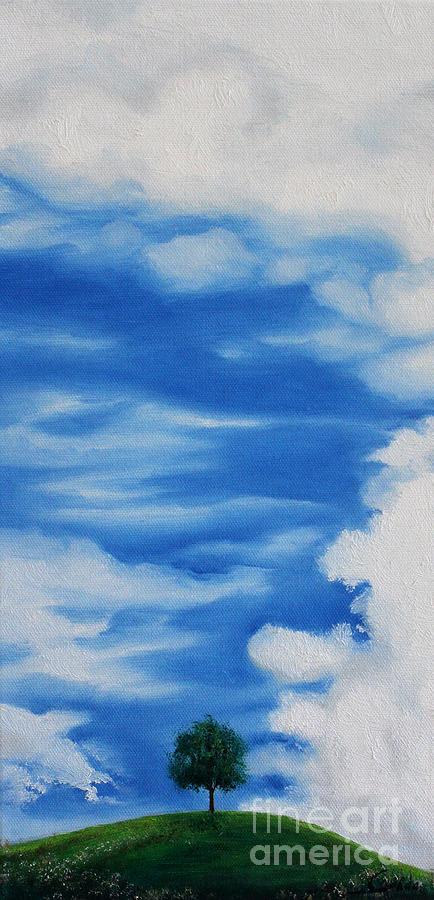Landscape Painting - Dusk Day Dawn Series by Seth Corda