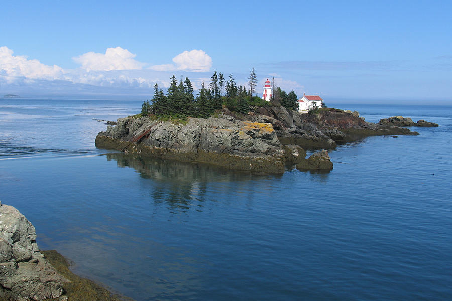 East Photograph - East Quoddy Lighthouse by Bob Davis