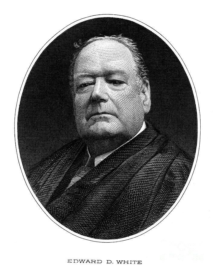 1910 Photograph - Edward Douglass White by Granger