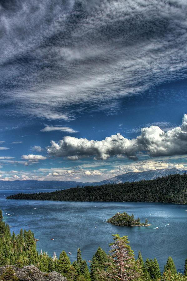Emerald Bay Photograph - Emerald Bay by Carlos Quiroz