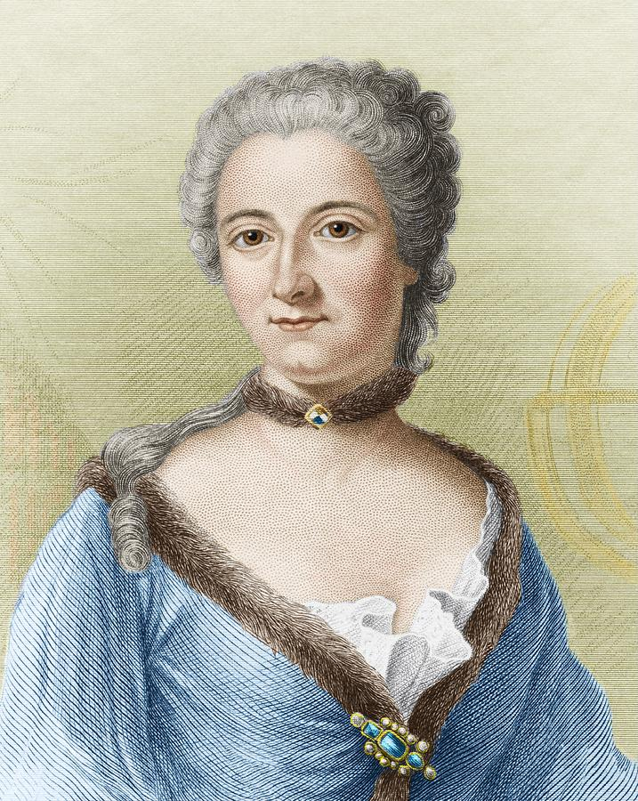Emilie Du Chatelet French Physicist Photograph By Sheila
