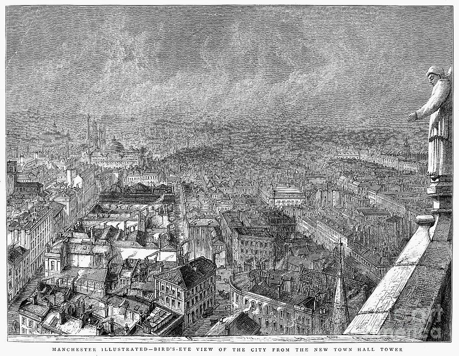 1876 Photograph - England: Manchester, 1876 by Granger