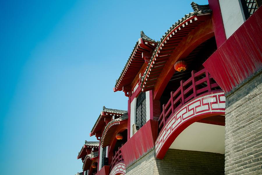 Horizontal Photograph - Epang Palace by Pan Hong