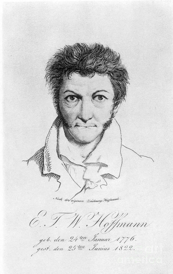 19th Century Photograph - Ernst Hoffmann (1776-1822) by Granger