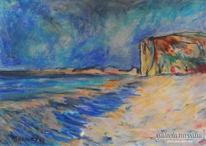 Costa Rica Painting - Escondita 98 by Bradley