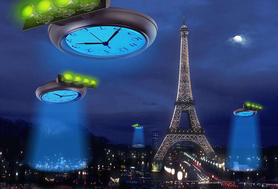 Paris Photograph - European Time Traveler by Mike McGlothlen