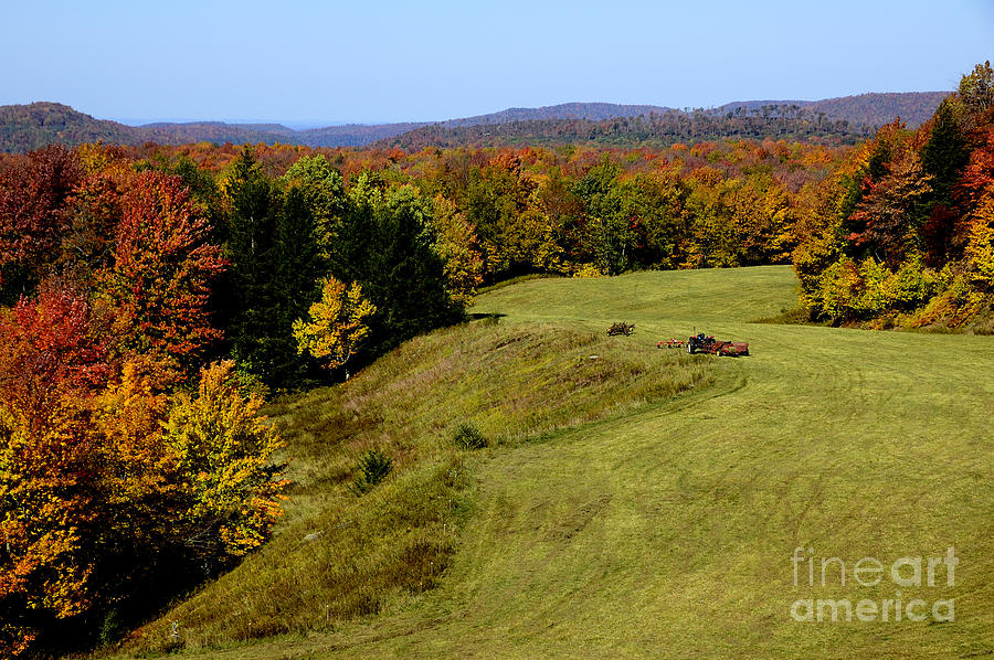 West Virginia Photograph - Fall Color Randolph County West Virginia by Thomas R Fletcher