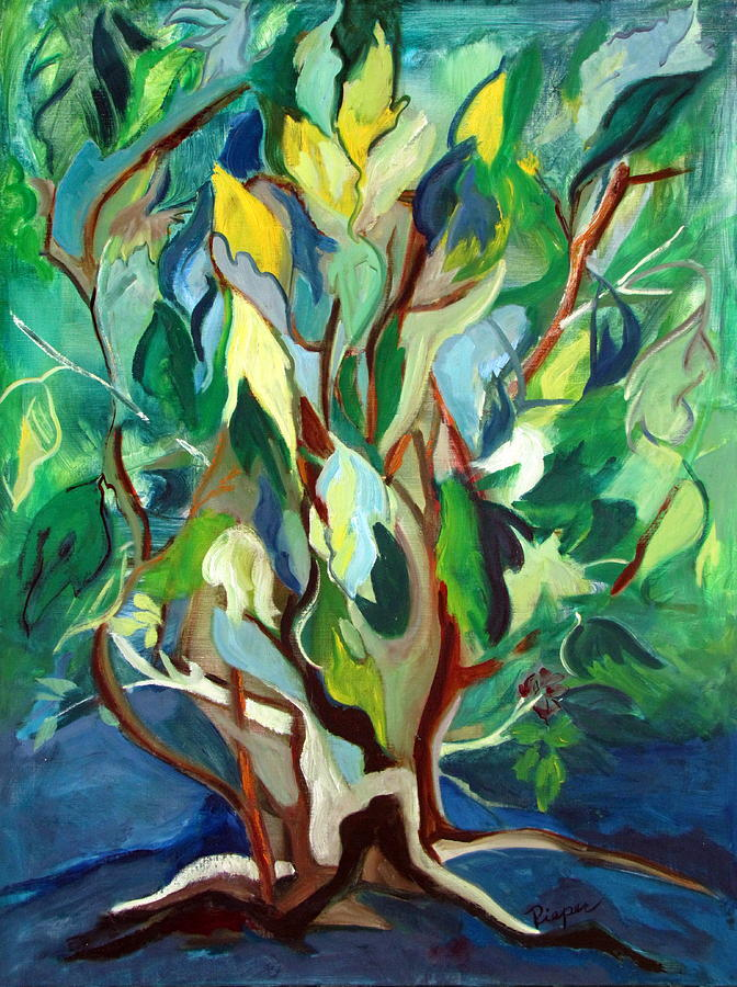 Family Tree Painting By Betty Pieper