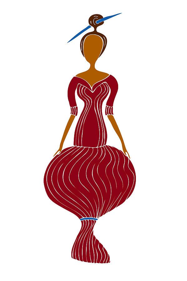 Fashion Painting - Fashion Drawing by Frank Tschakert