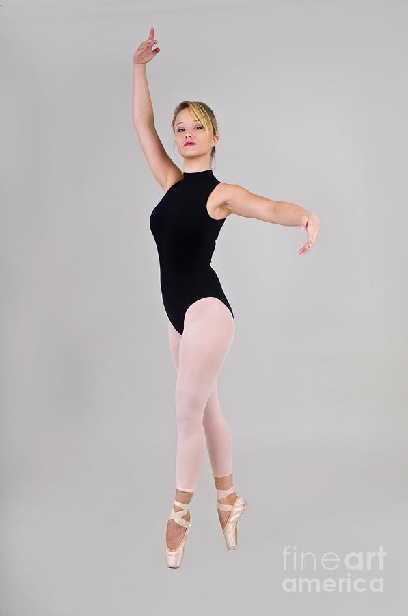 Balance Photograph - Female Dancer by Ilan Rosen