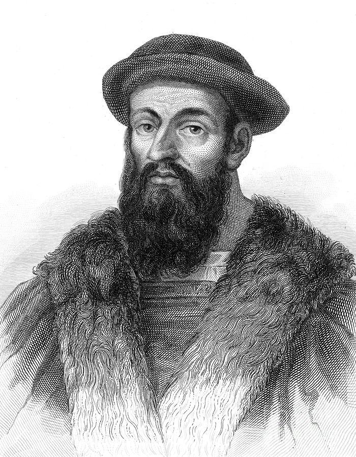 15th Century Photograph - Ferdinand Magellan by Granger