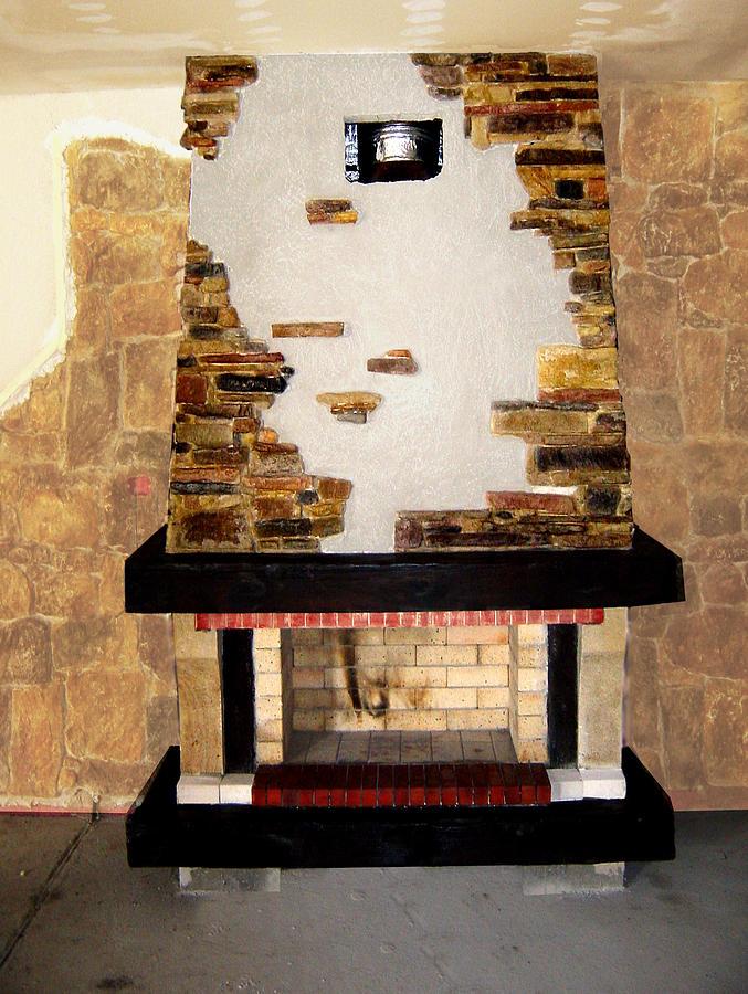 Fireplace Sculpture by Antonio Petrov