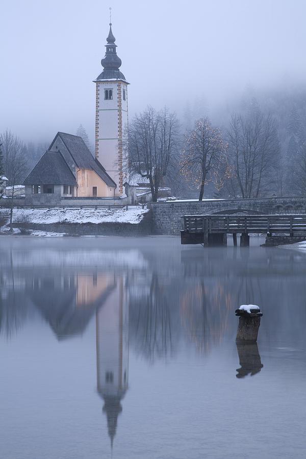 Bohinj Photograph - First Dawn by Ian Middleton