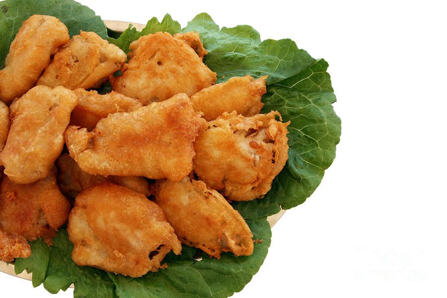 Aegean Pyrography - Fish And Chips by Soultana Koleska