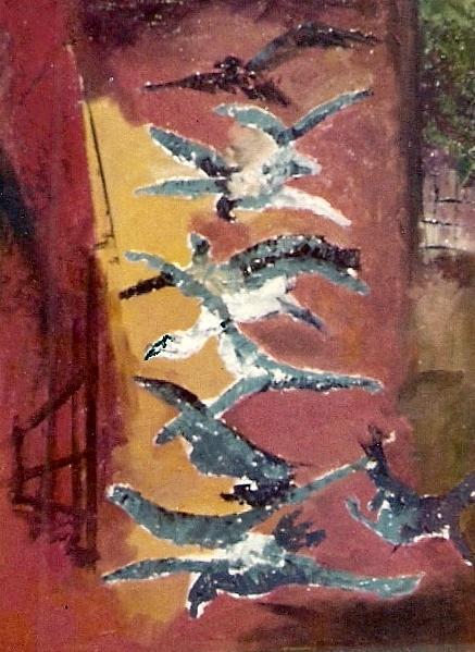 Modern Painting - Flight To Freedom by Satyajit Roy ArtDecor