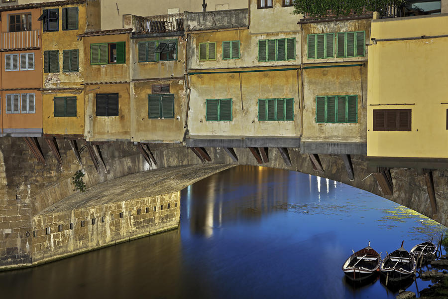 Florence Photograph - Florence - Ponte Vecchio by Joana Kruse
