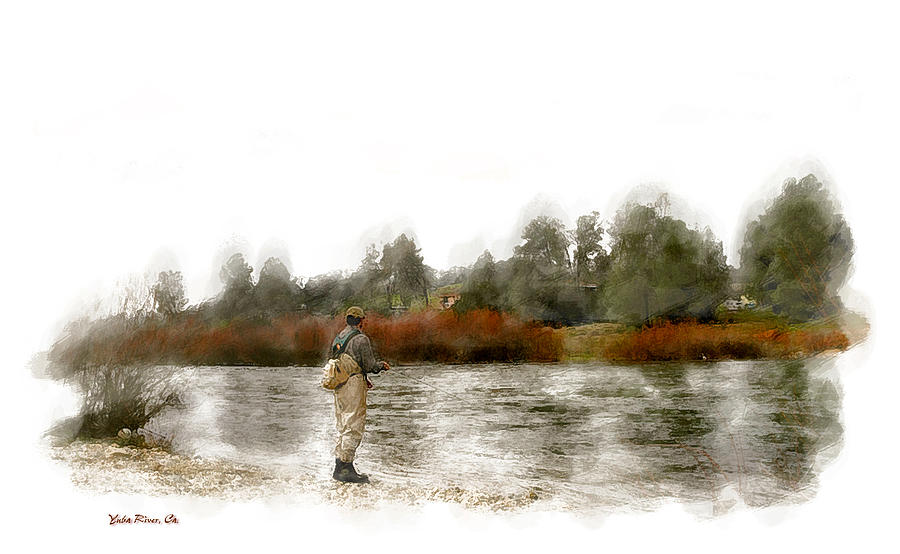 Fly fishing photograph by gary rose for Fly fishing posters