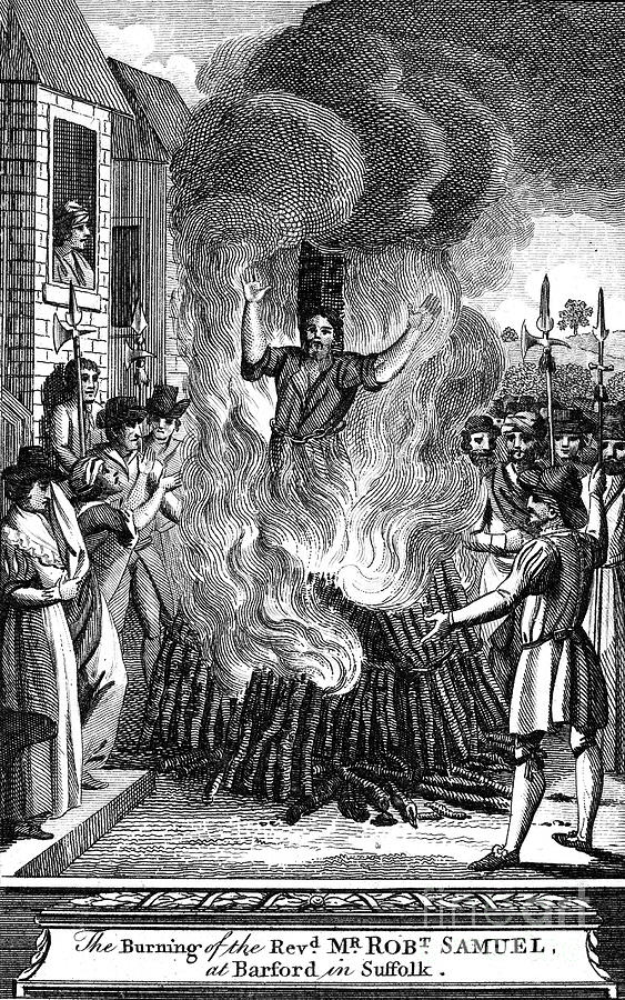 16th Century Photograph - Foxe: Book Of Martyrs by Granger