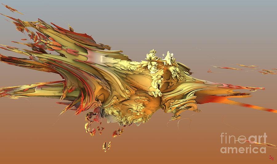 Fractal Digital Art - Fractal Life by Ron Bissett
