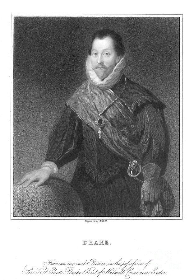 16th Century Photograph - Francis Drake (1540?-1596) by Granger