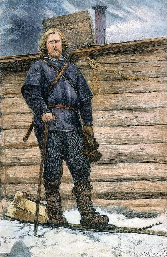 1896 Photograph - Fridtjof Nansen (1861-1930) by Granger