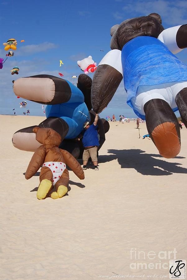 Kite Photograph - Fuerteventura Kite Festival 2011 by Justin Shaw