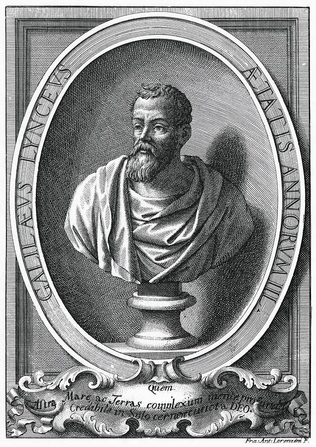 Galileo Galilei Photograph - Galileo Galilei, Italian Astronomer by Humanities & Social Sciences Librarynew York Public Library