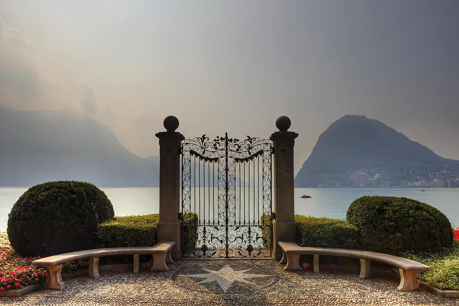 Lake Lugano Photograph - Gateway To The Lake Of Lugano by Joana Kruse