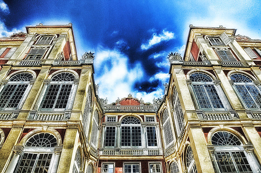 Palazzo Reale Photograph - Genova Palazzo Reale - Royal Palace Of Palazzo Dei Rolli by Enrico Pelos