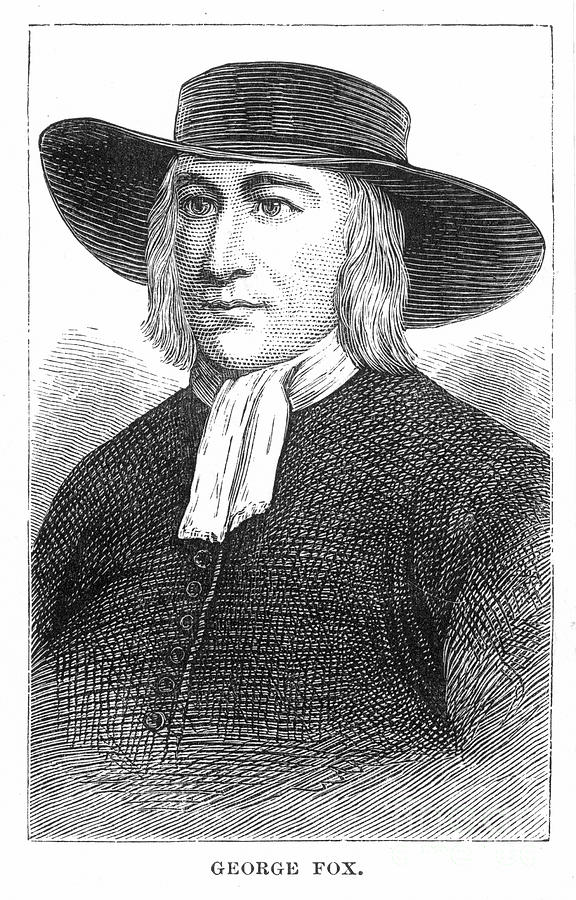 English Photograph - George Fox (1624-1691) by Granger