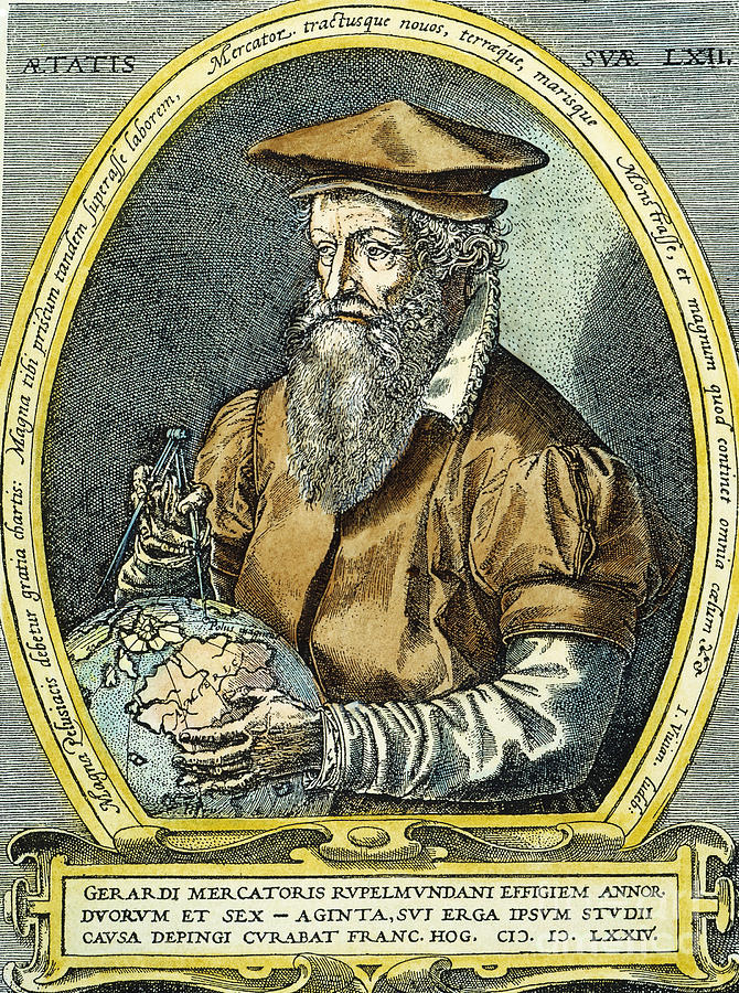 a biography of gerardus mercator
