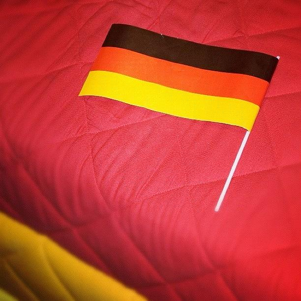 Germany Photograph - German flag and colors by Matthias Hauser