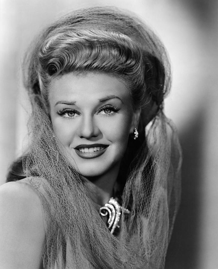 ginger rogers 19111995 american photograph by everett
