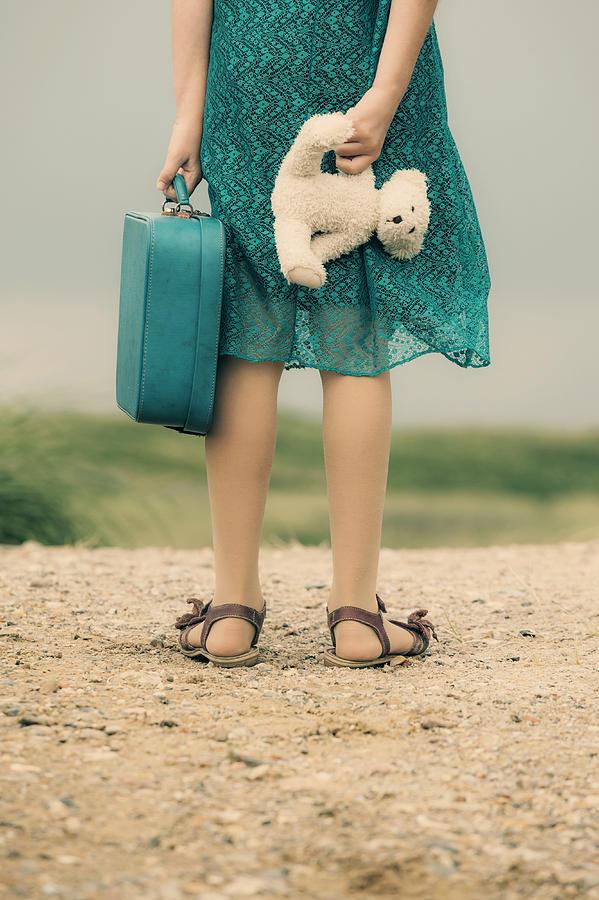 Girl Photograph - Girl In The Dunes by Joana Kruse