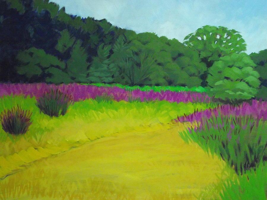 Golden Grass Painting - Golden  Meadow by Robert Rohrich