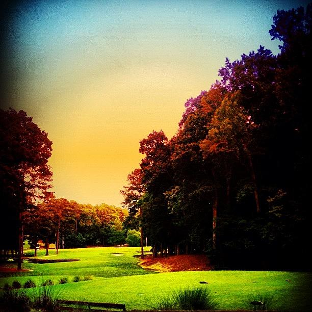 Blue Photograph - Golf by Katie Williams