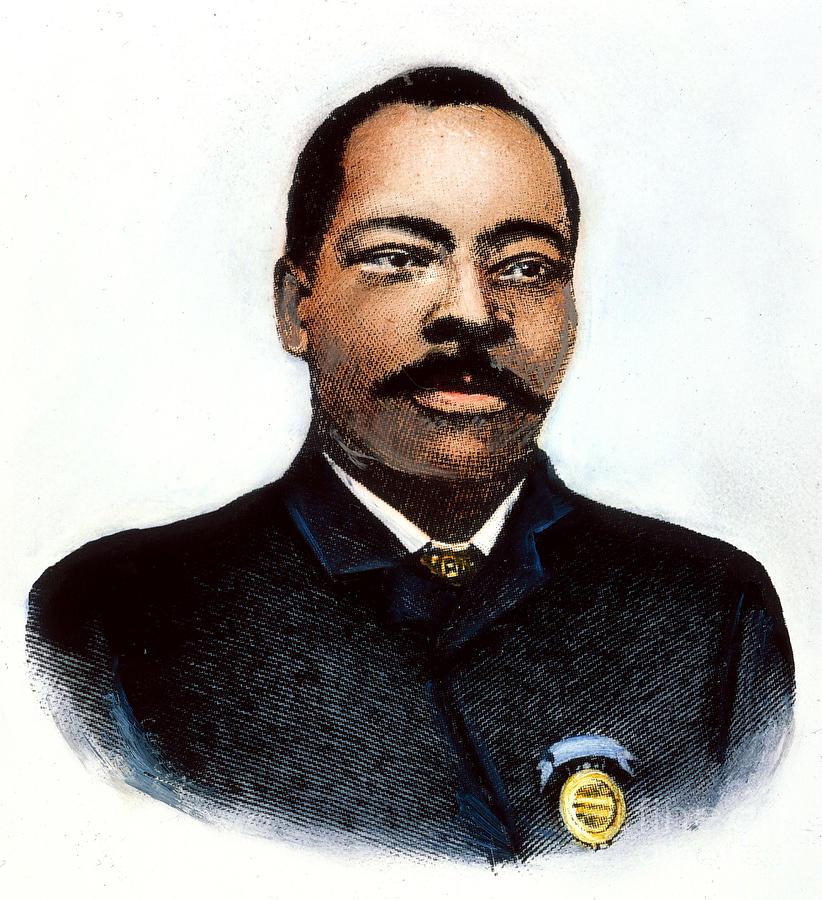 Granville T. Woods Photograph by Granger