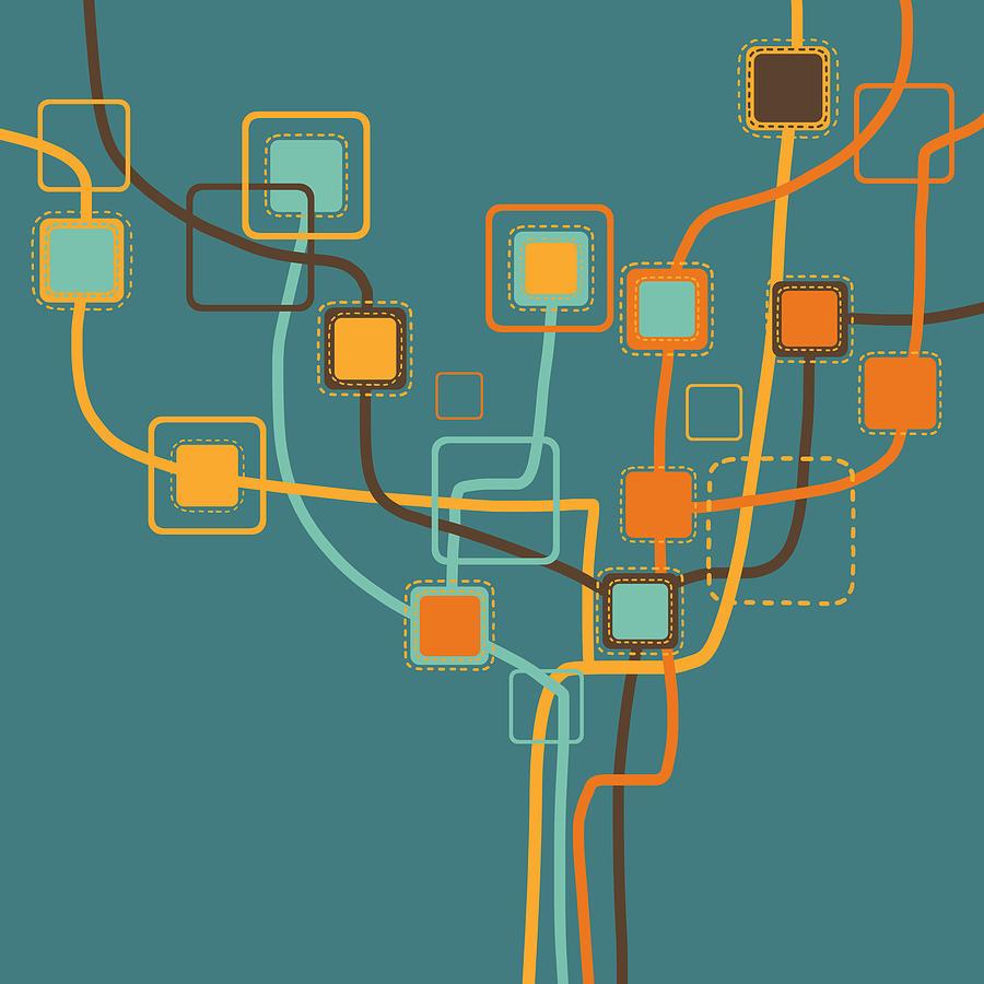 Art Photograph - Graphic Tree Pattern by Setsiri Silapasuwanchai