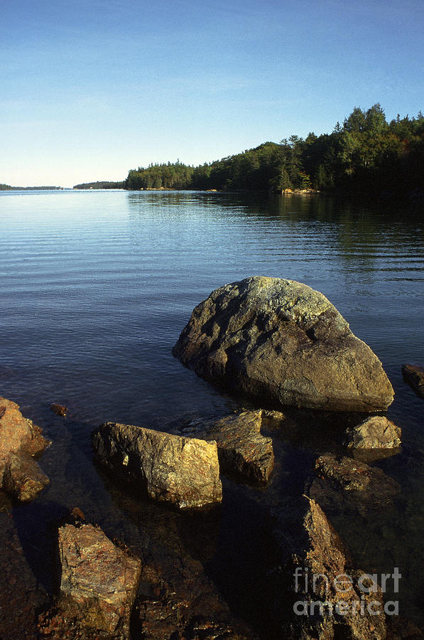 Deer Isle Photograph - Greenlaw Cove Deer Isle Maine by Thomas R Fletcher