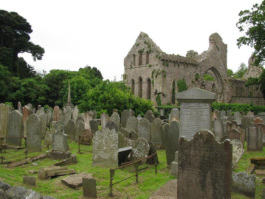 Greystone Photograph - Greystone Abbey by Lynn Lary