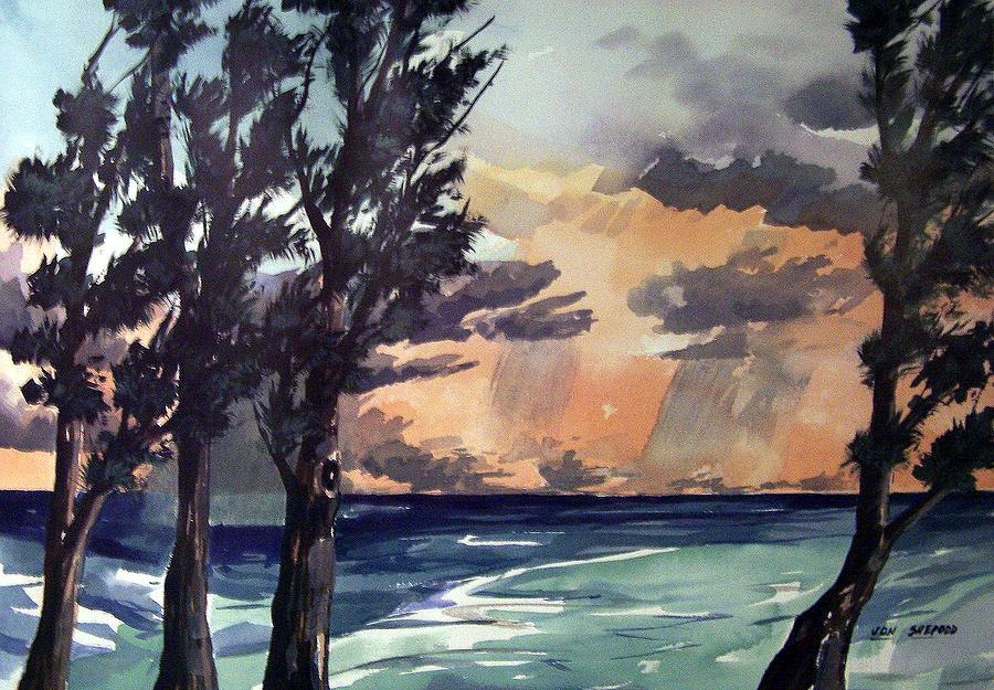 Haena Painting - Haena by Jon Shepodd