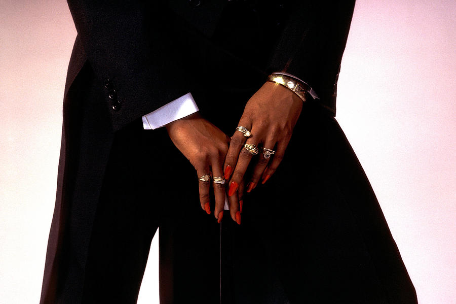 Fashion Photograph - Hands With Jewellery by Stuart Brown