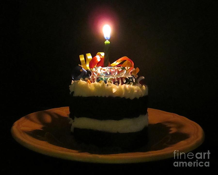Happy Birthday Photograph By Patricia Januszkiewicz