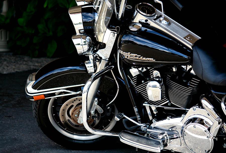 Harley Davidson Photograph - Harley Davidson  by Karen Scovill