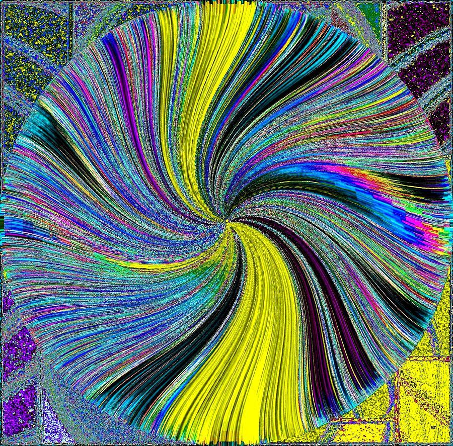 Abstract Digital Art - Harmony 41 by Will Borden