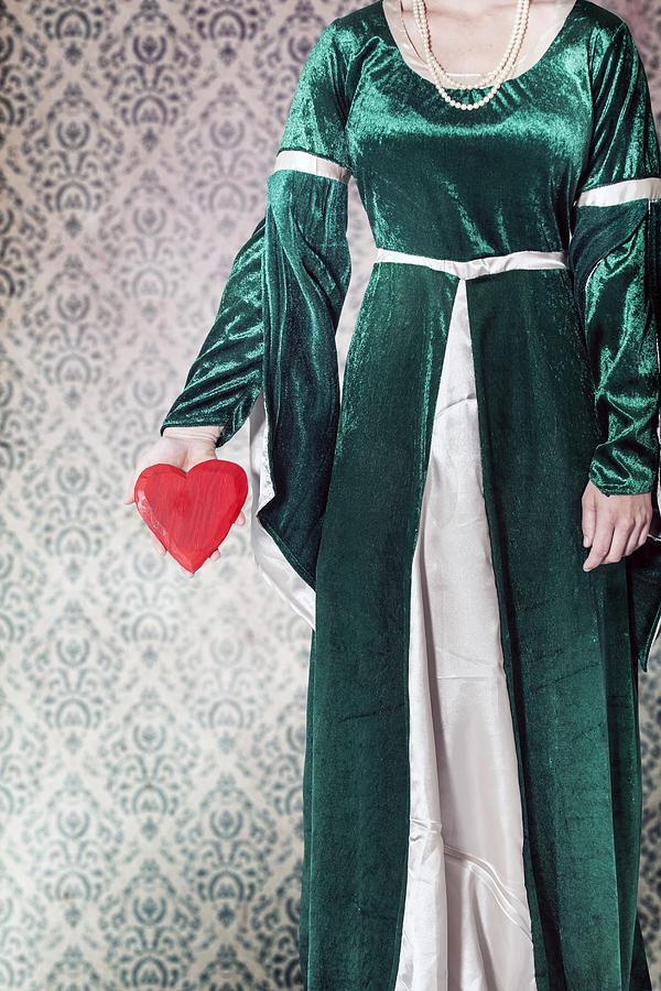 Female Photograph - Heart by Joana Kruse