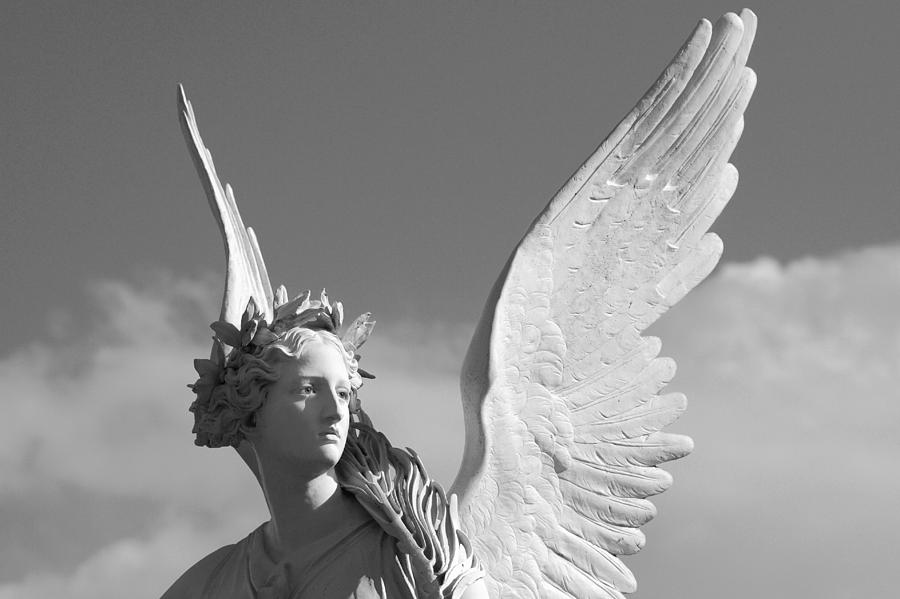 Angel Photograph - Heavenly by Marc Huebner