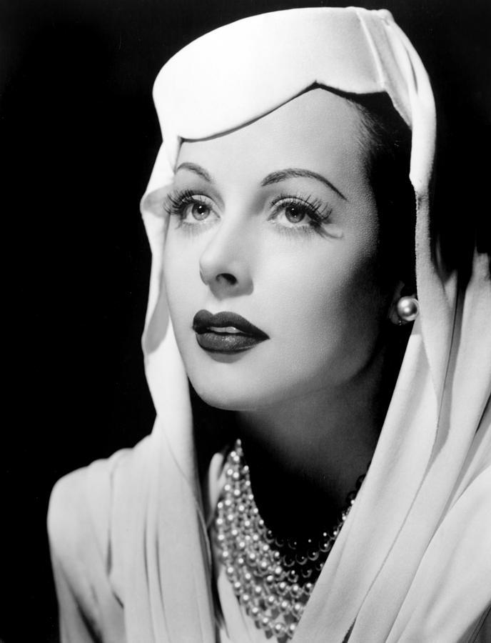 Hat Photograph - Hedy Lamarr by Everett