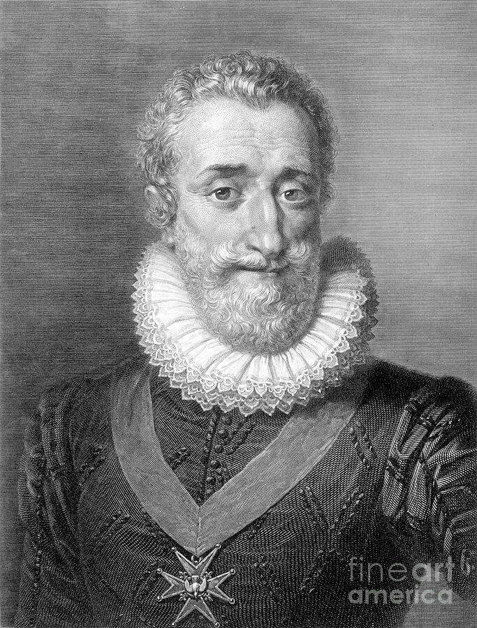 16th Century Photograph - Henry Iv (1553-1610) by Granger