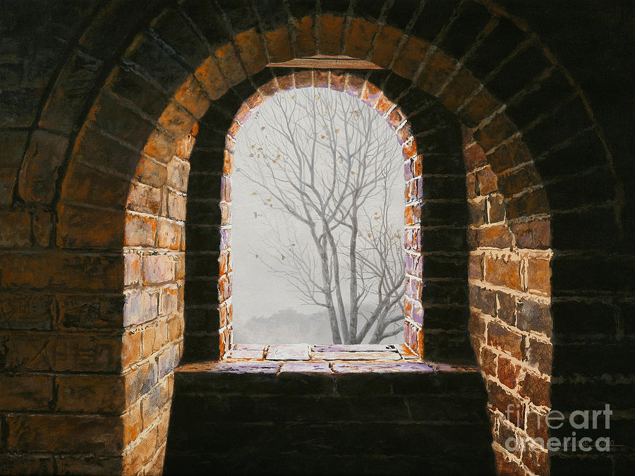 Lynette Cook Painting - Here Now by Lynette Cook